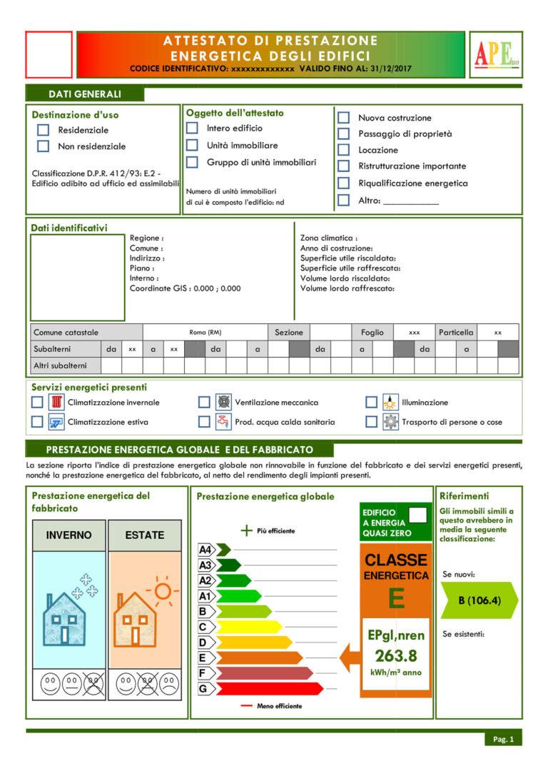 Certificazione Energetica Bergamo   Certificato Energetico Bergamo   APE Bergamo   attestato di prestazione energetica Bergamo